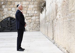 VP Mike Pence visits the Western wall | by U.S. Embassy Jerusalem