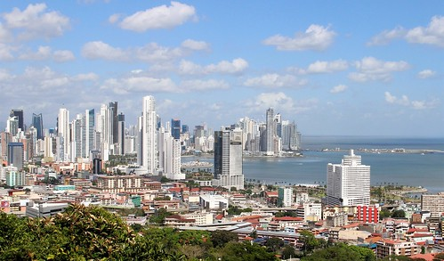 panamá city cityscape vista urban cerroancón viewpoint view
