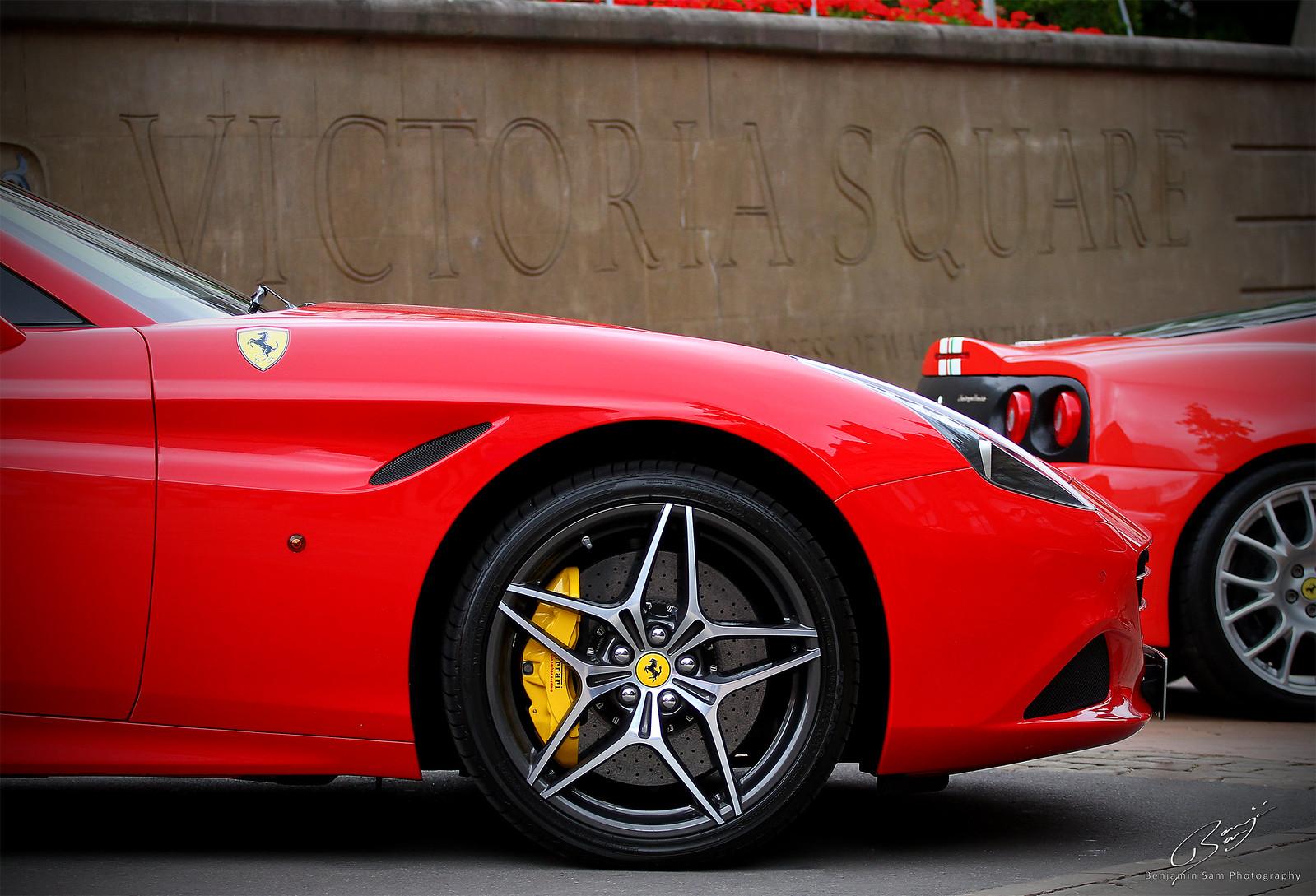Ferrari California T and 360CS Victoria Square