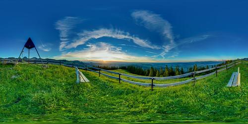 gurnigel 815f4l sunset fisheye hdrdri sky canon 5dmkiii wolken landschaft bern schweiz
