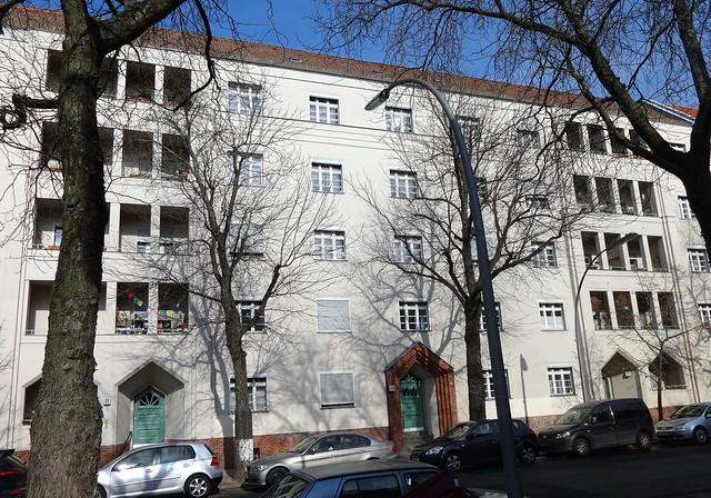 1924 Berlin Mietswohnhaus 5Et./30WE von Fritz Buck Alt-Wittenau 21-22 in 13437 Wittenau