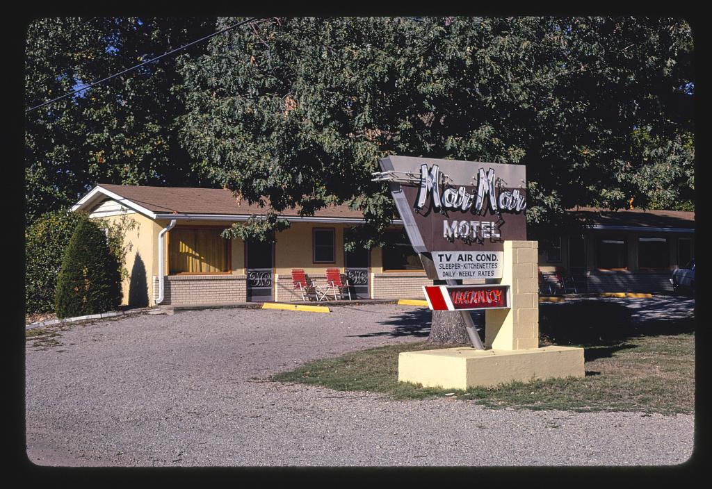 Mar-Mar Motel, Bull Shoals, Arkansas (LOC)