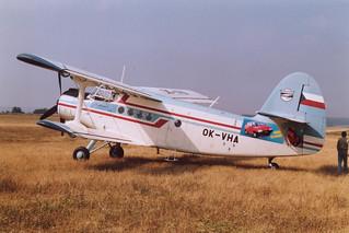 OK-VHA An-2 @ Kladno 15-09-1991