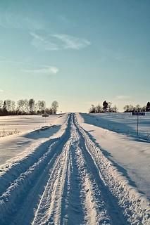 SDIM2122. The Snowy Road to Skrepyaschevo (Скрепящево)