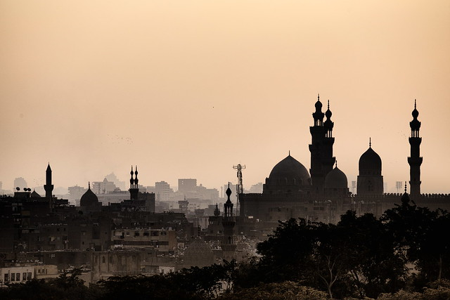 Silhouette of Cairo