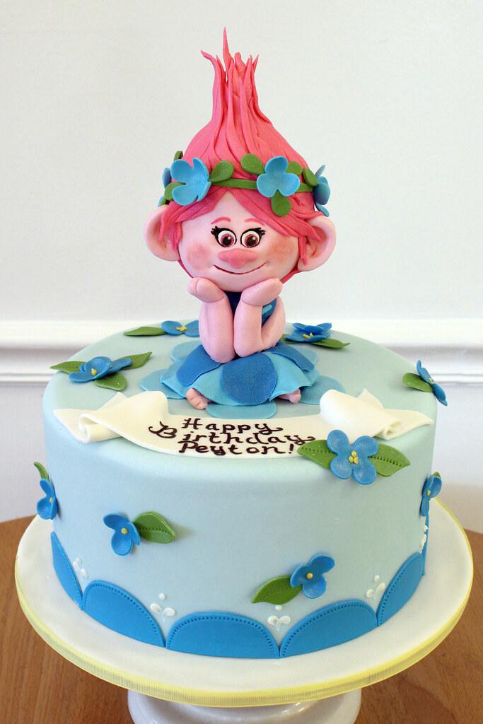 Poppy Troll Birthday Cake | Oakleaf Cakes | Flickr