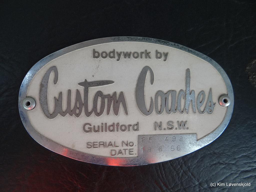 Custom Coaches bodywork
