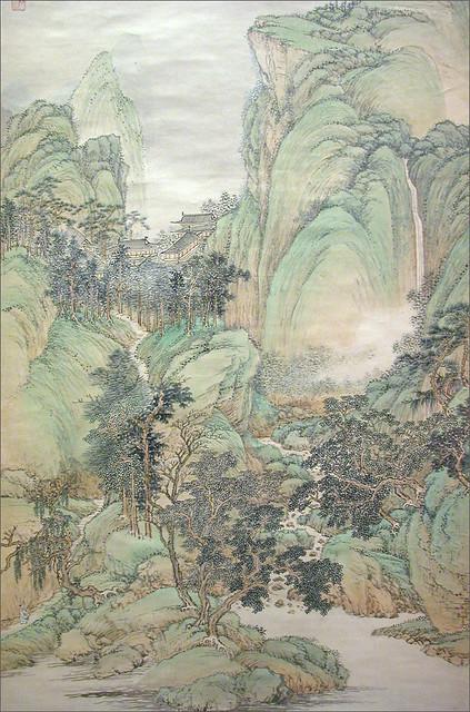 Paysage de Wang Hui (Shanghai Museum, Chine)
