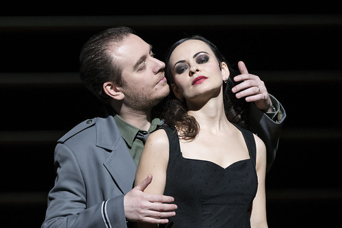 Francesco Meli as Don José and Anna Goryachova as Carmen in Carmen, The Royal Opera Season 2017/18 © ROH 2017. Photograph by Bill Cooper. | by Royal Opera House Covent Garden