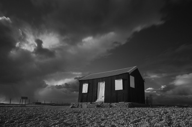 The old hut, Rye Harbour