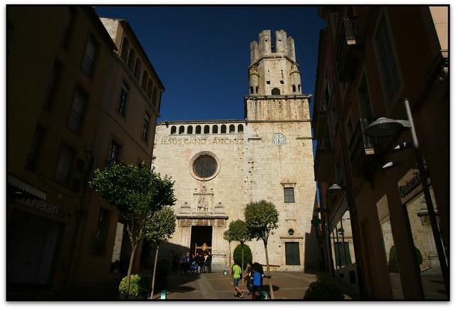 La façana, Església de Sant Martí, Palafrugell (el Baix Empordà)