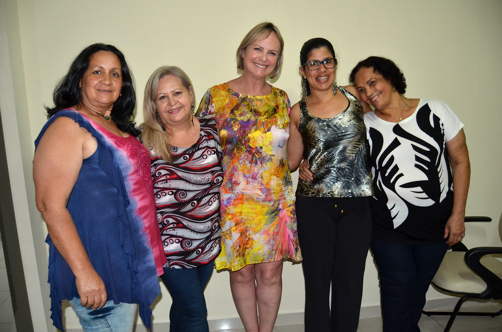 Isabel Bonfant, Eleusa Celestino, Claudiceia de Lima Ferreira, Hilda Rodrigues Lima