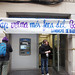 28_02_2018-Ocupación sucursal Banco de Sabadell, por el Sindicato de Barrio de Poble Sec