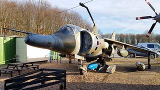 Hawker Siddeley Harrier GR.3 c/n 712015 United Kingdom Air Force serial XV752 code B | by sirgunho