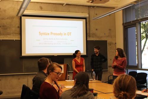 SPOT (Syntax-Prosody in OT) Workshop 11.18.17