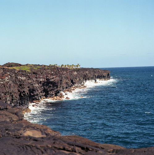 "Image titled ""Coastline, Volcano National Park."""