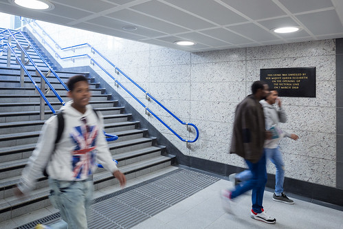 TfL Image - Victoria Station Upgrade - south ticket hall | by Transport for London Press Images