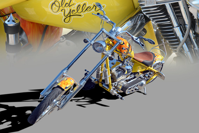 Old Yeller - Customized Chopper - (In Explore)