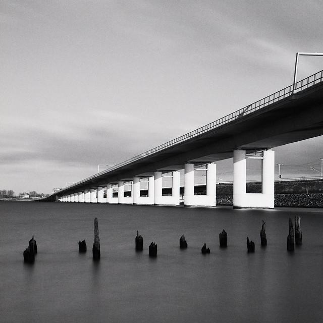 old pier , new bridge
