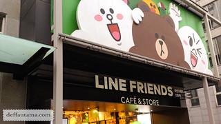 5 hari di Seoul - Line Cafe 1 | by deffa_utama