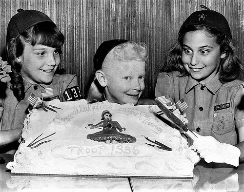 Girl Scouts Brownies in 1959 in Southern California