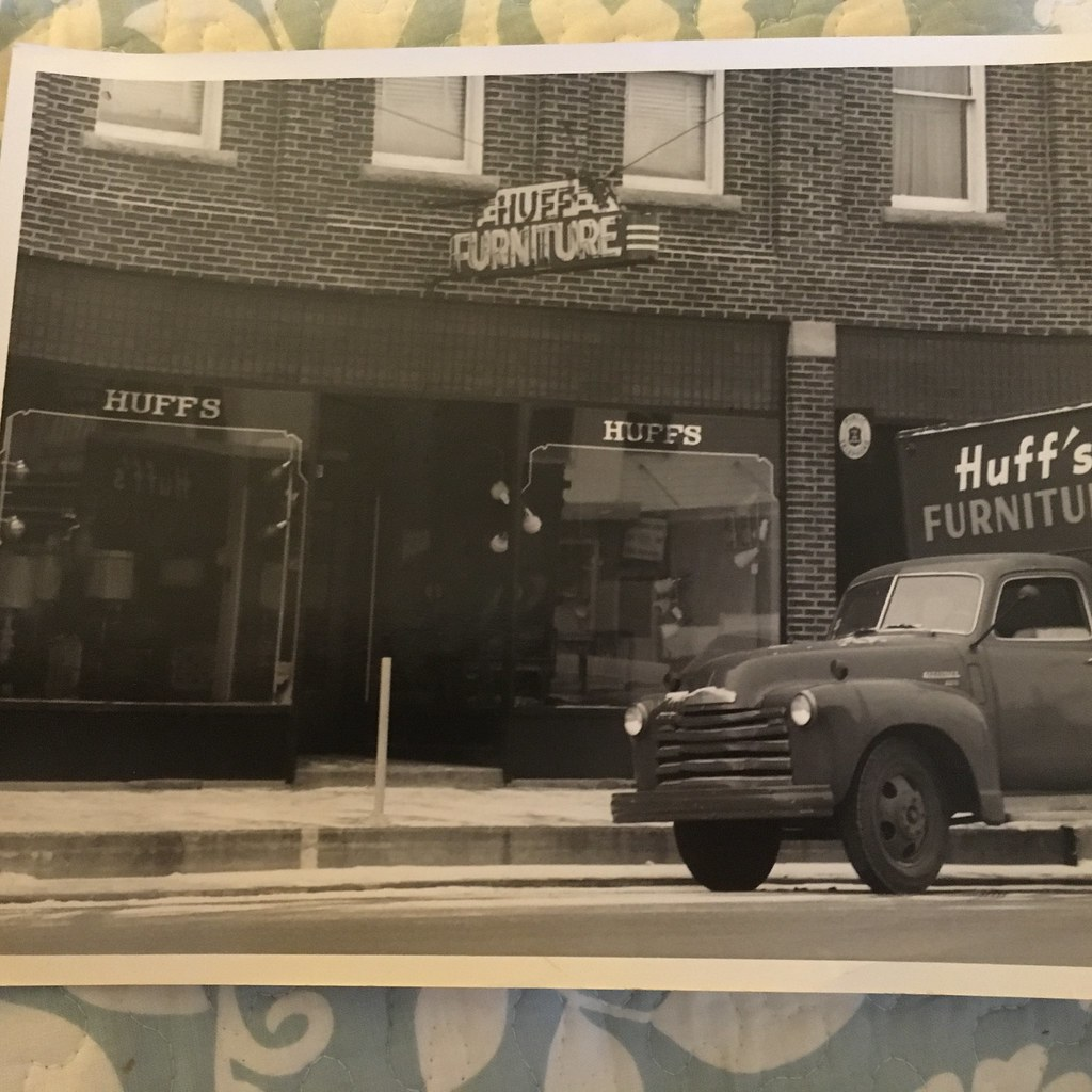 1948 Or So Huff Furniture Store From The Steve Huff Coll Flickr