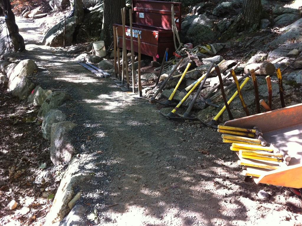 trail art tools Appalachian Trail