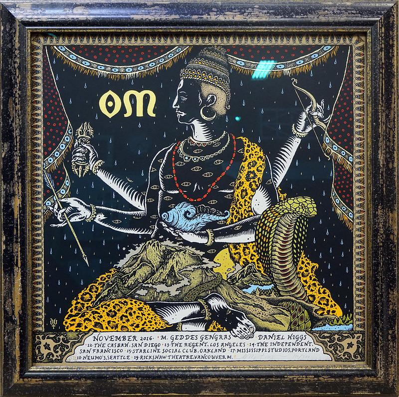 "Psychedelic artwork 24 x 24"" OD"