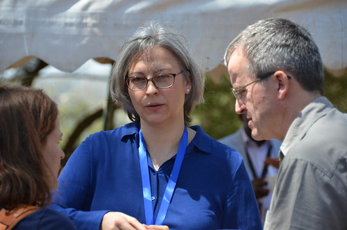 Feb/2018 - Officials from the German Federal Research Institute for Animal Health, the Federal Institute for Risk Assessment (BfR), and the Institute of Parasitology and Tropical Veterinary Medicine of the Free University of Berlin, visited ILRI 27 February–1 March 2018 (photo credit: ILRI/Paul Karaimu).