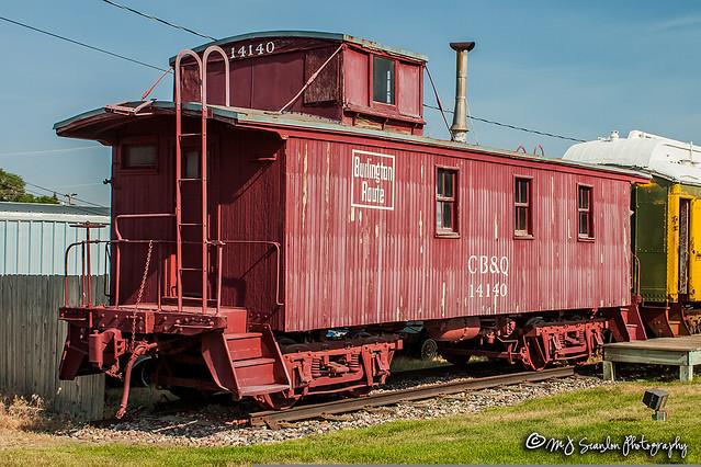 CB&Q 14140 | Caboose | Douglas Railroad Interpretive Center