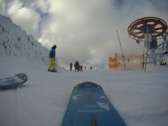 Fotečka z lyže...