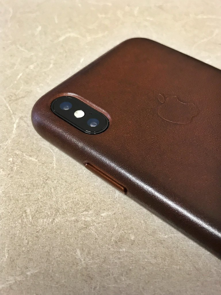 official photos 54985 f4cc7 iPhone X | saddle brown leather case | Yanki01 | Flickr