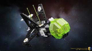 LEGO® 6887 Allied Avenger (Blender Cycles)   by Renderbricks