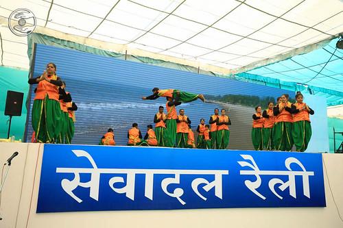 A skit by Mumbai Sewa Dal Volunteers