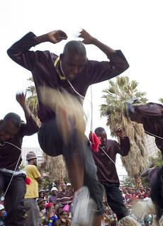 Cultural dance festival Joubert park Johannesburg South Africa. March 2008