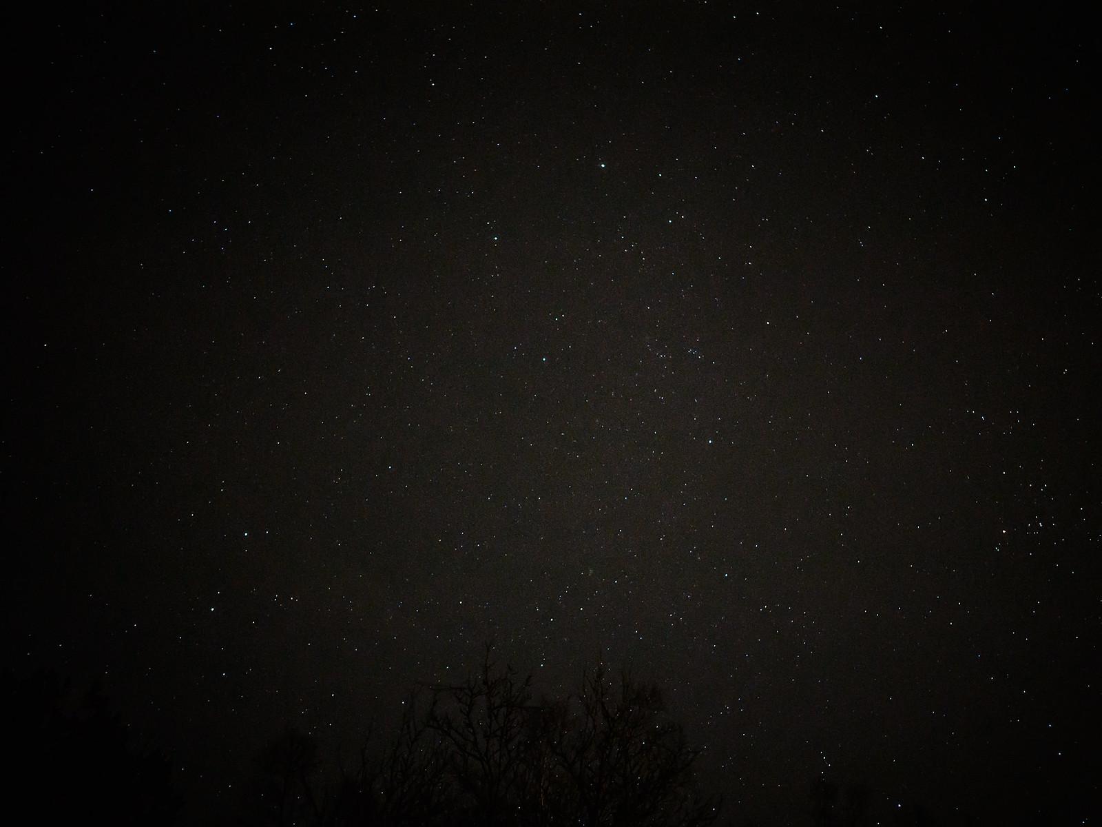 Night sky, stars..