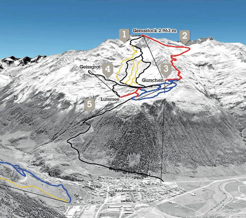 Andermatt-Sedrun - vycházející hvězda ve středním Švýcarsku - Katalog  švýcarských středisek - Switzerland Tourism