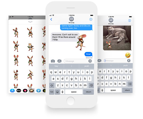 Moss iOS Sticker Pack | by PlayStation.Blog