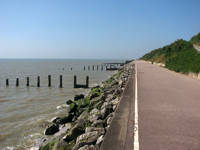 The coast at Holland-on-Sea