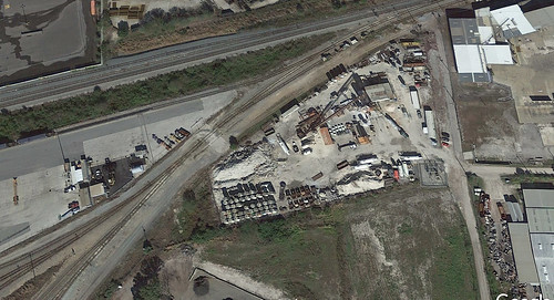 aerialview satteliteview megamix buildingmaterialssupplier 1902n69thstreet tampa florida fl unitedstates usa us america rockyard conveyers rockcrushers copyrightgooglemaps™ copyrightgoogeearth™