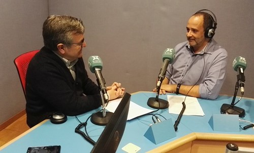 Manolo Garrido y Pere Cadona en Xarxa Local