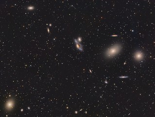 Markarian's Chain and M87 | by Paddy Gilliland @ Image The Universe