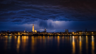 Rainy night in Antwerp | by Jochem.Herremans