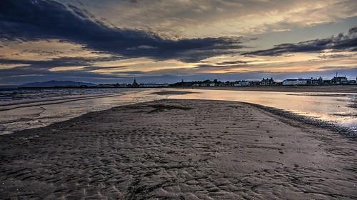 South Beach Sunset, Ardrossan, Scotland