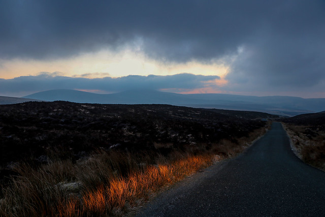 A Wicklow  road