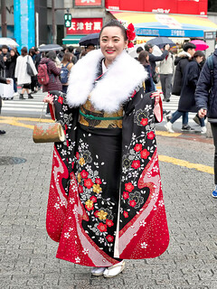 Japanese Kimono on Coming of Age Day 2018 | by tokyofashion