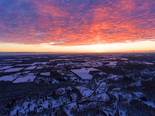 superbowl tired zzzzz morning sunrise winter cold chilly frozen colorful beautiful landscape nature drone drones dji djiphantom4 phantom4
