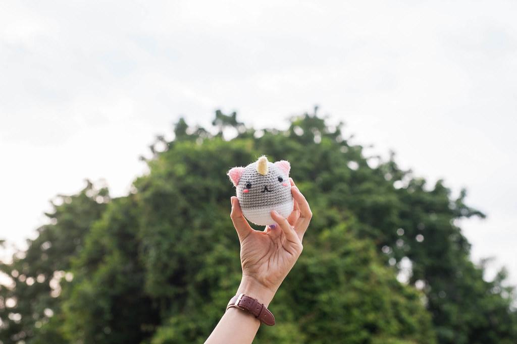 Mamemaru the Baby Lying Rainbow Unicorn Amigurumi – Tiny Rabbit ... | 682x1024