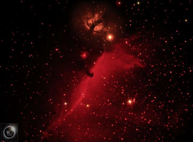Barnard 33 & NGC 2024 - Horsehead & Flame Nebula 15/02/18