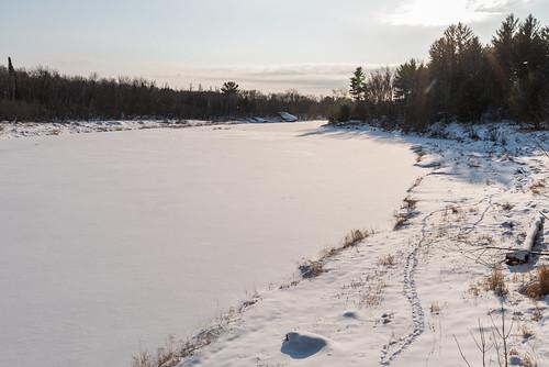 banningstatepark kettleriver minnesota frozen frozenriver ice river sandstone snow winter unitedstates us